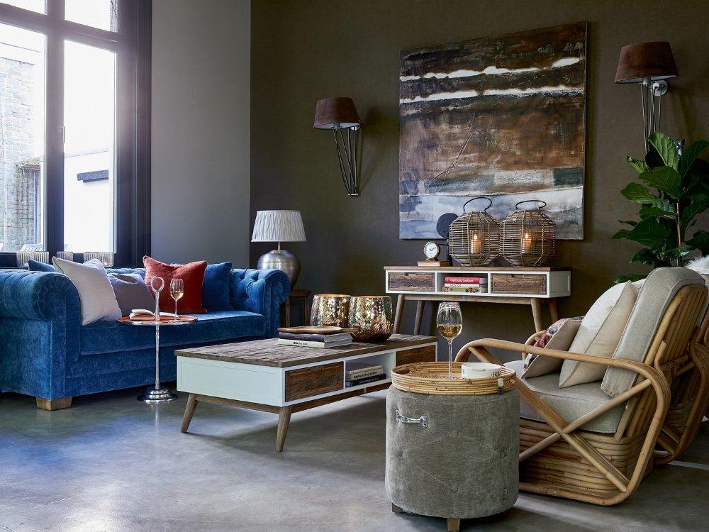 Wohnzimmereinrichtung von Fischers Fine Interiors steht für Stil und Eleganz