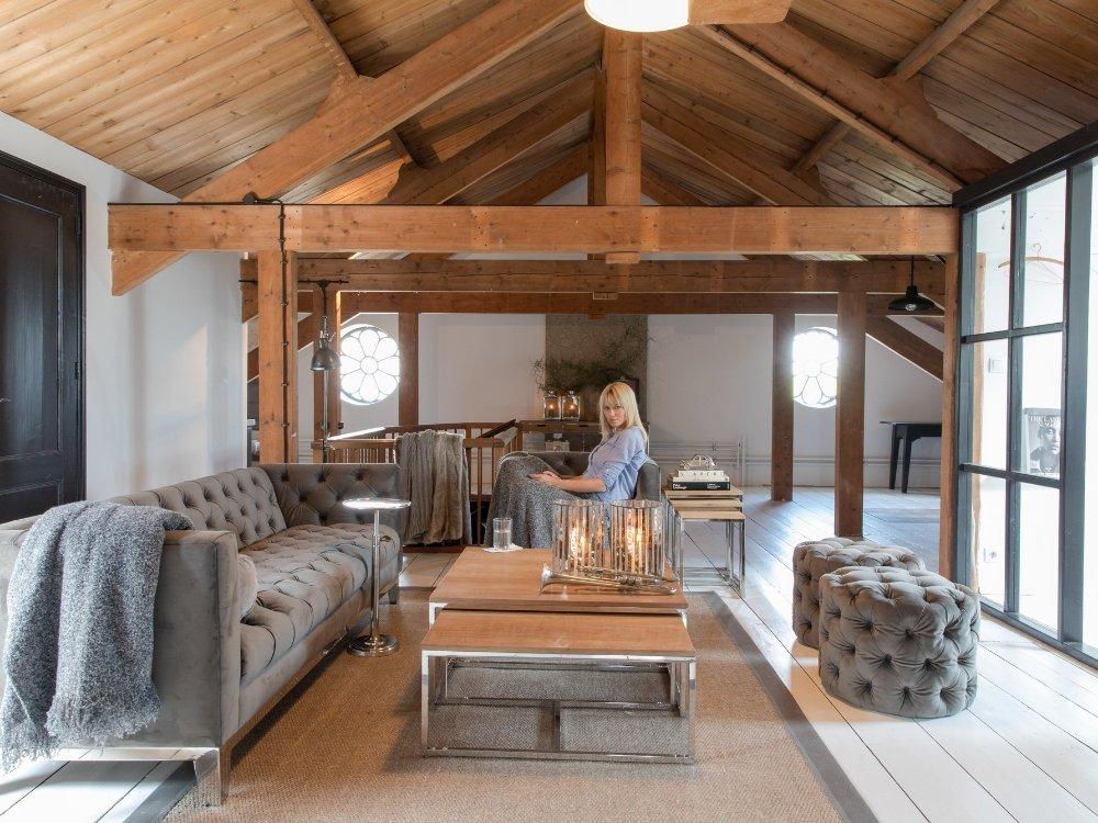 Inneneinrichtung Wohnzimmer – Gemütlich und stilvoll