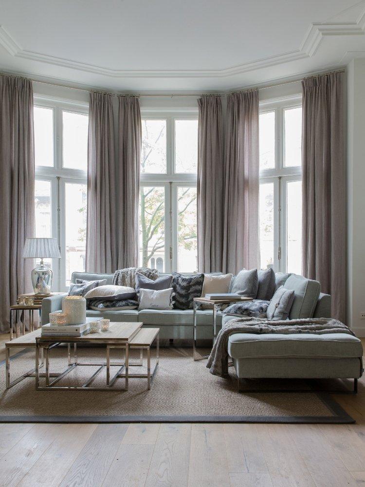 Inneneinrichtung Wohnzimmer von Fischers Fine Interiors - Stil garantiert